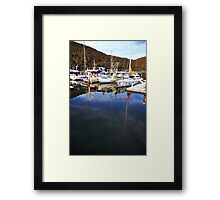 Reflective mood #3 - Bobbin Head, NSW Framed Print