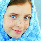 Blue Eyed Girl  #2 by Heather Rampino