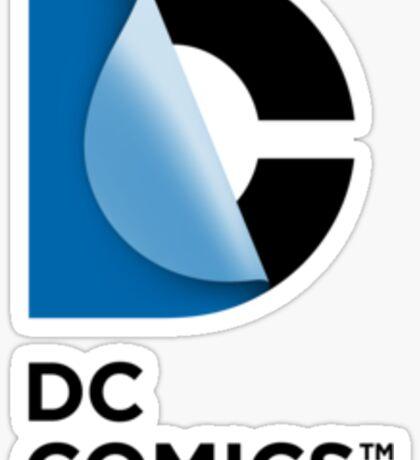 DC Comics New Logo  Sticker