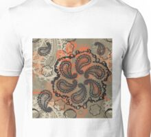 Spicy Paisley Unisex T-Shirt