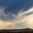Spectacular Cape Forchu Sunset by Debbie  Roberts
