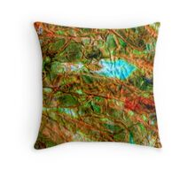 Touch of Turquoise Throw Pillow