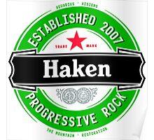 Haken Beer Poster