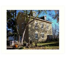 The Grist Mill Est. 1864 Art Print