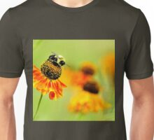 Bee on the flower Unisex T-Shirt