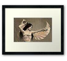 Vintage *Fairy Princess* Framed Print