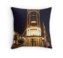 Window shopping on Rodeo Drive Throw Pillow
