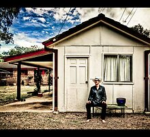 ...a man and his shed... by Geoffrey Dunn