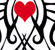 The Tattooed heart Sticker