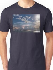 Lake Side Storm Watching Unisex T-Shirt