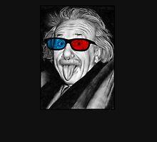 Albert Einstein 3d Glasses Piercing Unisex T-Shirt
