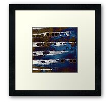 Samhain IIl. Winter Approaching  / abstract painting Framed Print
