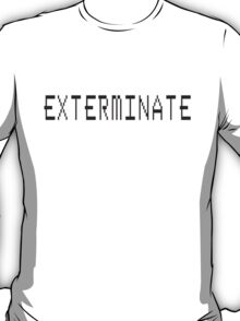 Exterminate Doctor Who T-Shirt