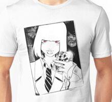 Scary selfie Unisex T-Shirt