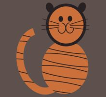 Hoodz Tiger Baby Tee