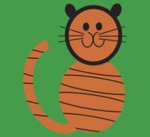 Hoodz Tiger Kids Tee