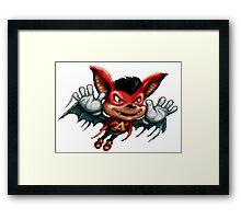 Aero the Acro-bat Framed Print