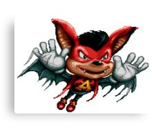 Aero the Acro-bat Canvas Print