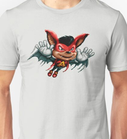 Aero the Acro-Bat - SNES Sprite Unisex T-Shirt