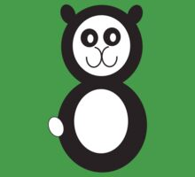 Hoodz Panda Kids Tee