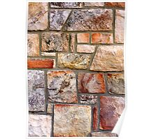 Stone Wall 1 Poster