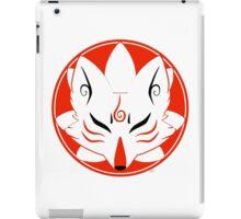 Kitsune Circle iPad Case/Skin