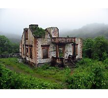 House in the Rain Forest Photographic Print