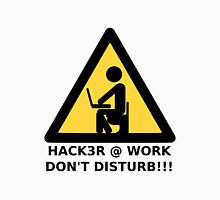 Hacker at work Unisex T-Shirt