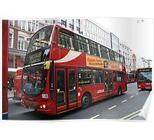 DAF DB250 bus Poster