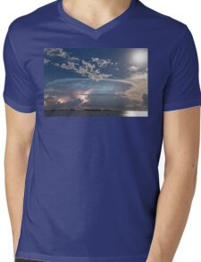 Lake Storm Mens V-Neck T-Shirt