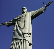 Corcovado, Christ the Redeemer by Cindi  LaRee