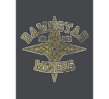 Skyrim - Football Jersey - Dawnstar Miners Photographic Print