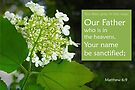 Our Father ~ Matthew 6:9 by Robin Clifton