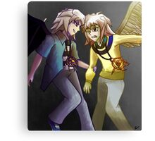 The Angel and its Devil Canvas Print