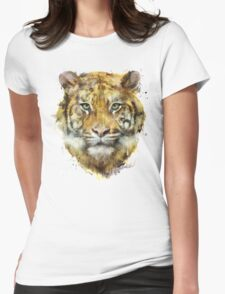 Tiger // Strength Womens Fitted T-Shirt