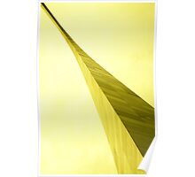 St. Louis Gateway Arch in yellow Poster