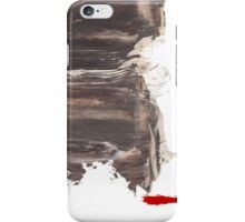 Wait  /  Oil Painting iPhone Case/Skin