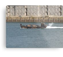 Marines  chilling on boat  Metal Print