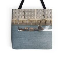 Marines  chilling on boat  Tote Bag