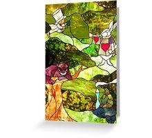 Wonderland friends... Greeting Card