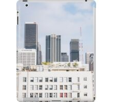 los angeles buildings iPad Case/Skin