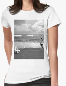 The Horizon Womens Fitted T-Shirt