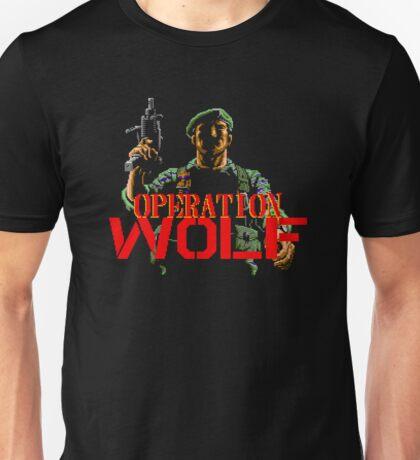 Operation Wolf - NES Title Screen Unisex T-Shirt