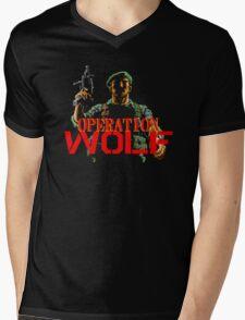 Operation Wolf Mens V-Neck T-Shirt