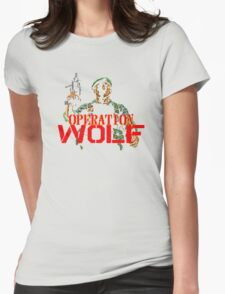 Operation Wolf Womens Fitted T-Shirt