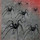 Spiders from Mars by inkedsandra