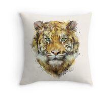 Tiger // Strength Throw Pillow