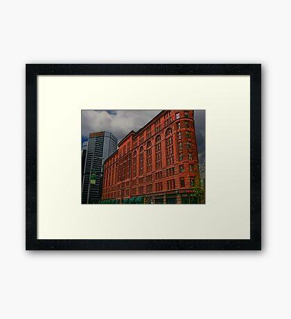 GOTHAM CITY PALACE HOTEL Framed Print