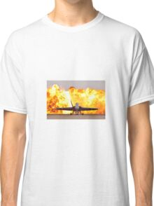 Fire and plane Classic T-Shirt