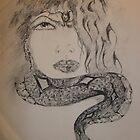 Modern Day Medusa by inkdiz